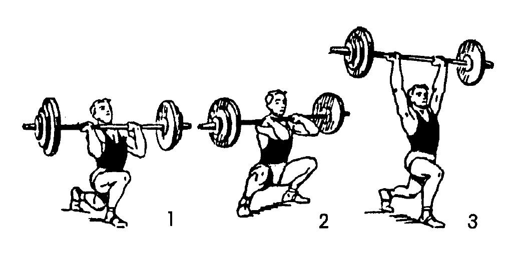 Gewichtheben_Stoßen